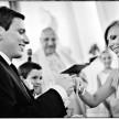 przysięga przed ołtarzem fotografia ślubna