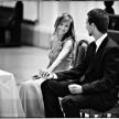 radość podczas ceremonii ślubnej