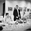 zabawy i toast na weselu - zdjęcia ślubne