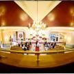 perspektywa na cały kościół fotografia ślubna