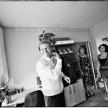 zdjęcia podczas przygotowań w domu