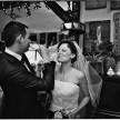 fotografia ślubna - toast pary młodej