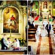reportaż ślubny z kościoła