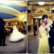 pierwszy taniec młodych na zdjęciach ślubnych