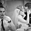 zdjęcia ślubne - pocałunek