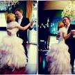 fotografia ślubna - taniec weselny pary młodej