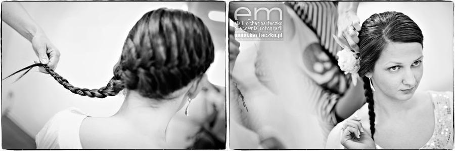 upięcie włosów do ślubu