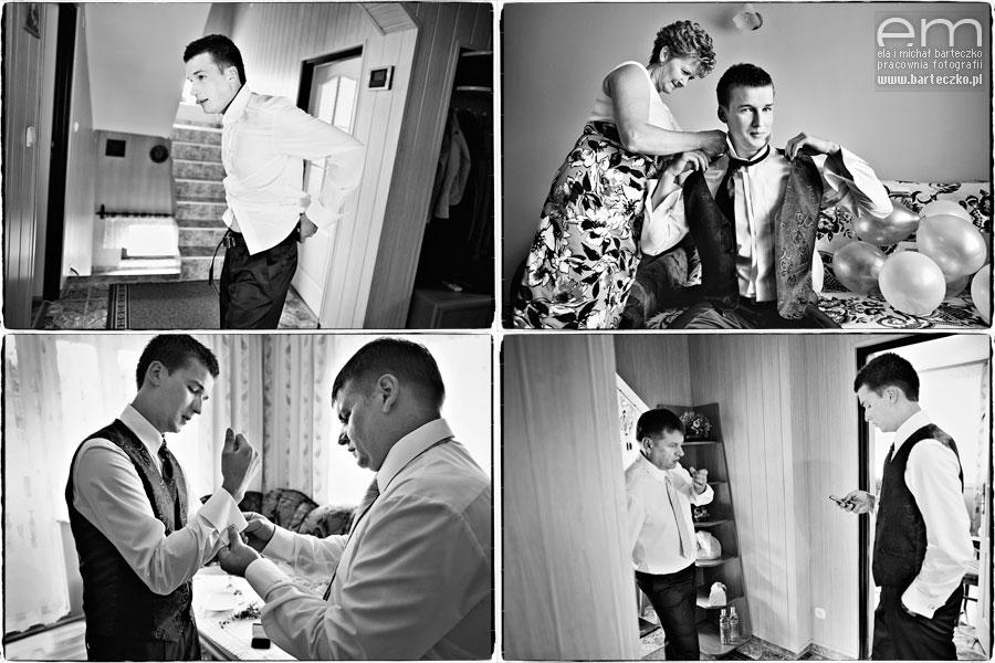 ubieranie do ślubu