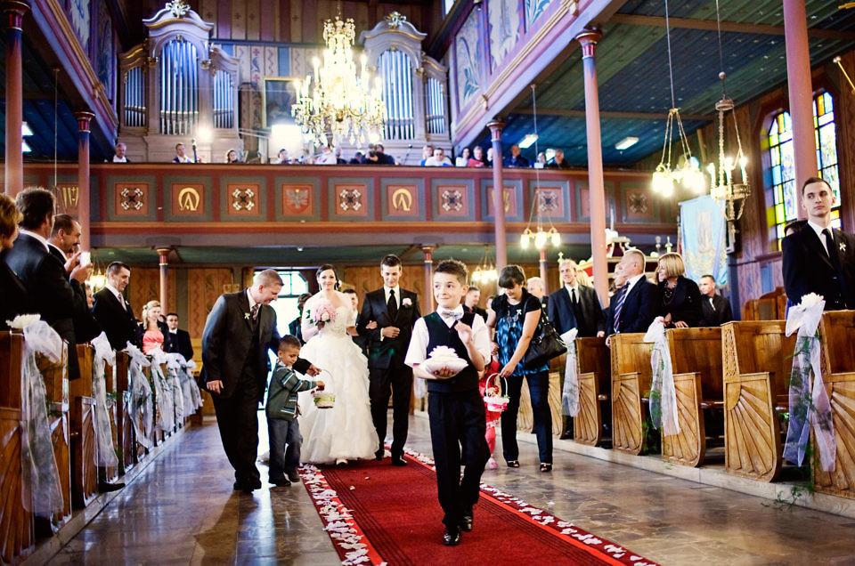 Wedding in Zawoja, Poland
