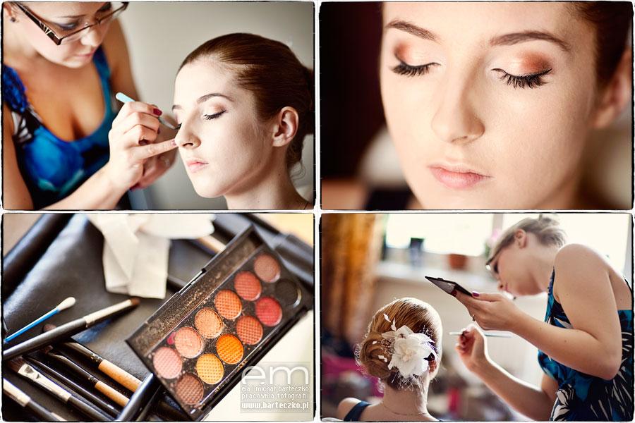 make-up do ślubu