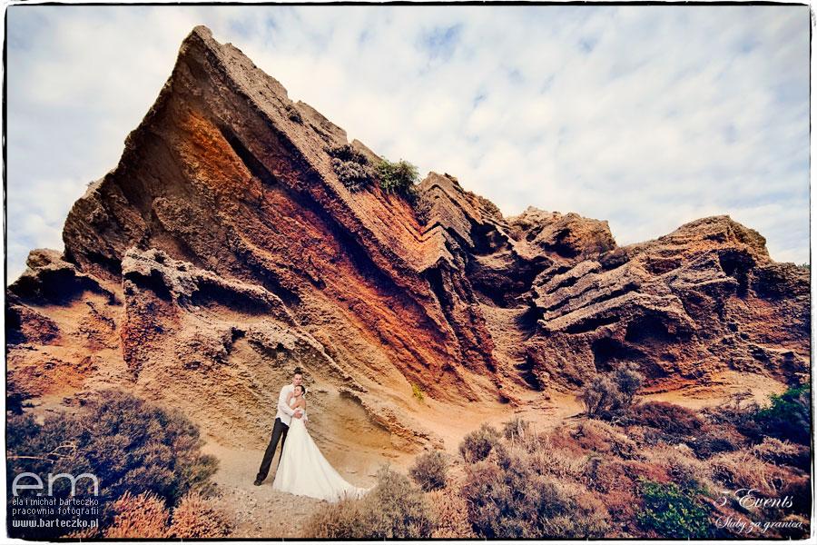 skały na Rodos