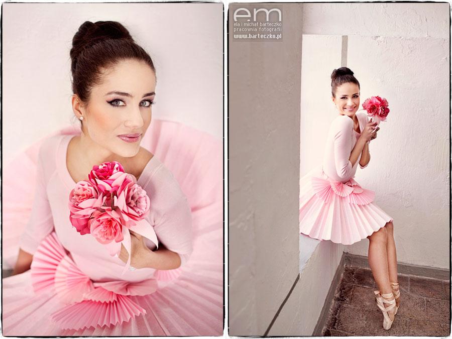 róż, pink