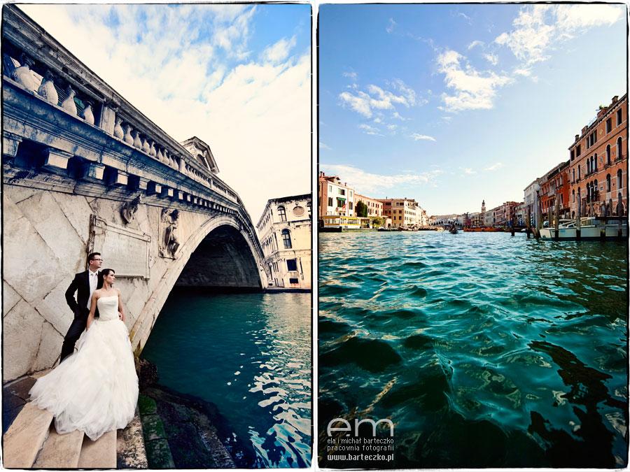 kanały w Wenecji