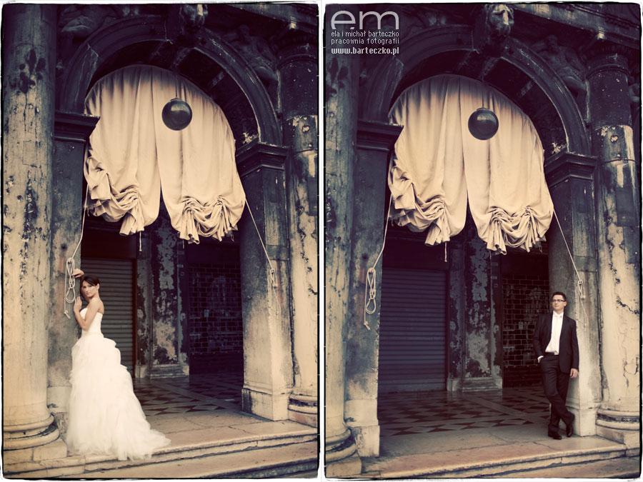 niezwykłe zdjęcia ślubne