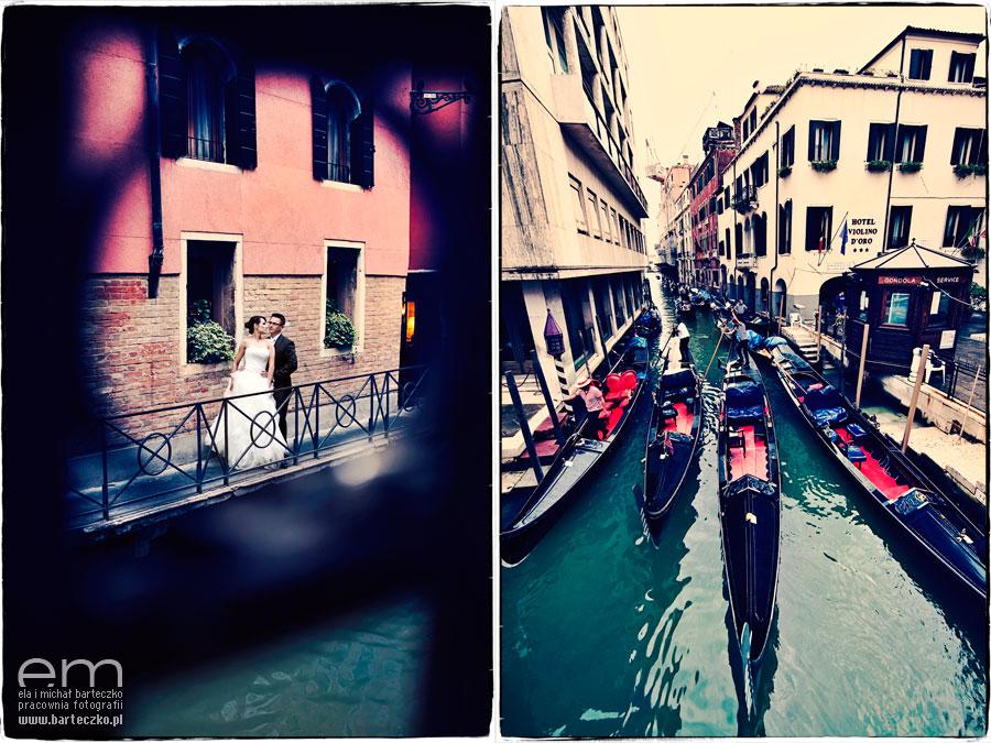 para młoda w Wenecji