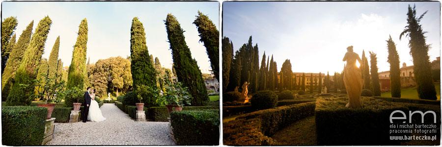 ogrody we Włoszech