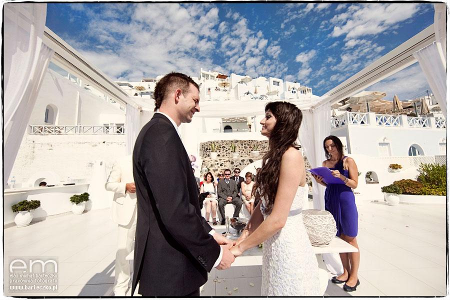 ślub nawyspach greckich