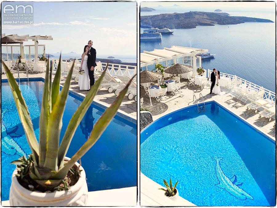 najpiękniejsze zdjęcia ślubne Grecja