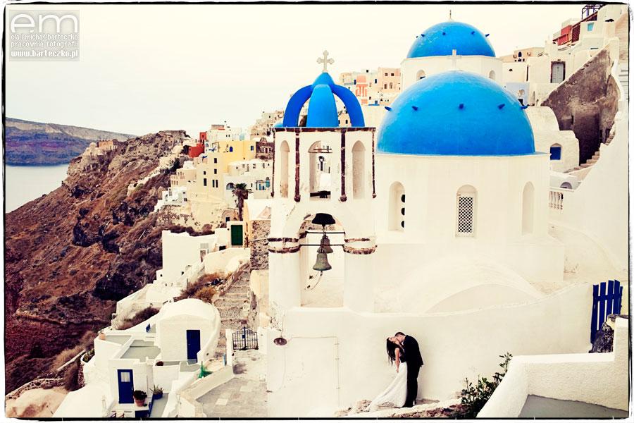 ślub Santorini