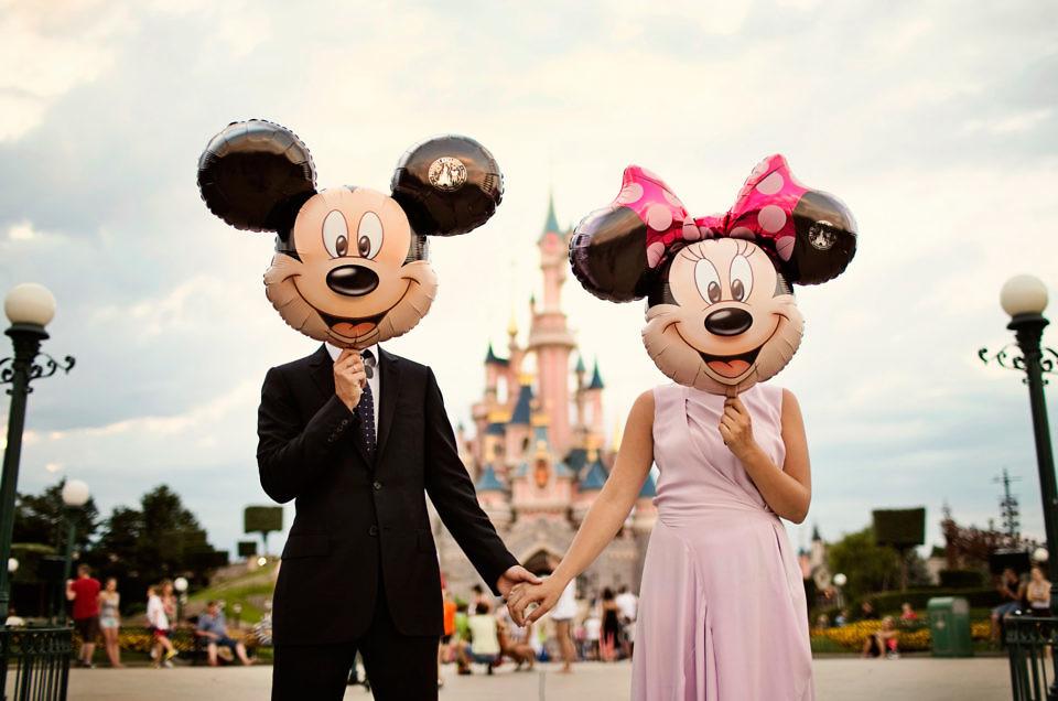 Sesja ślubna Disneyland Paryż