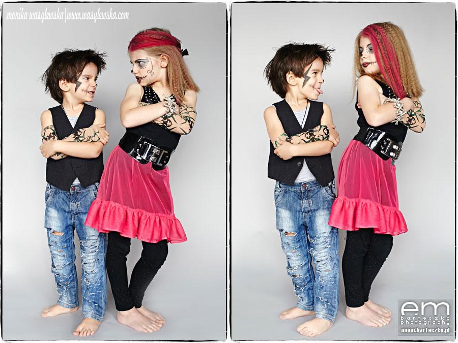 Zdjęcia dzieci, zwariowane Monster Kids 3