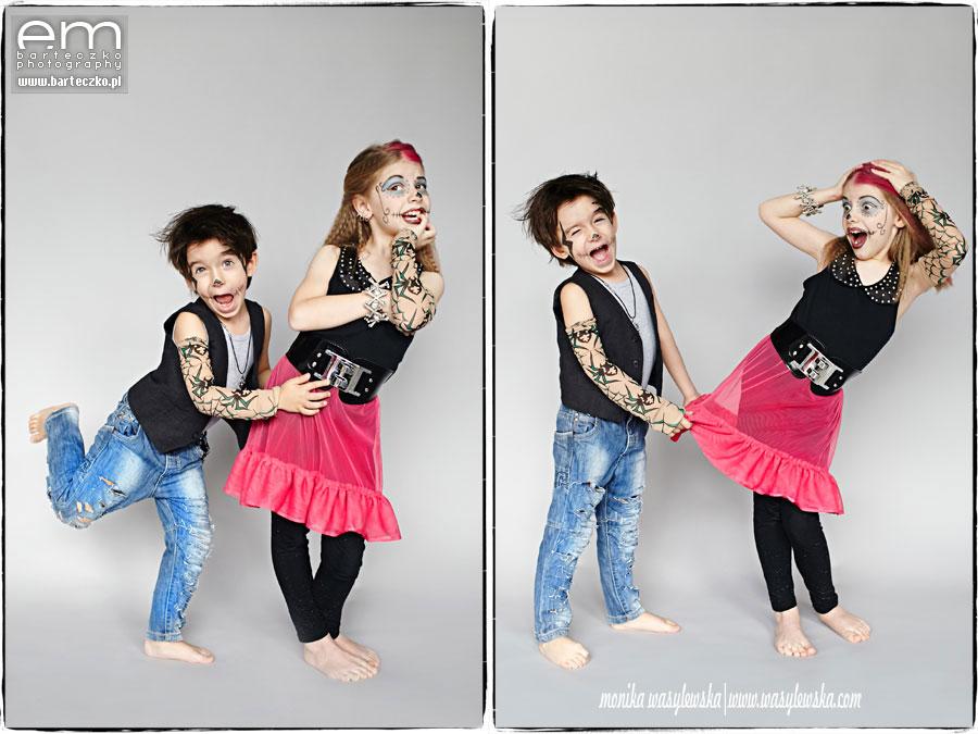 Zdjęcia dzieci, zwariowane Monster Kids 4