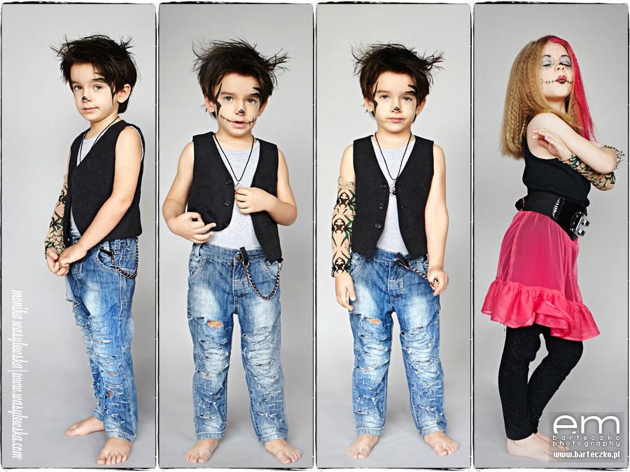 Zdjęcia dzieci, zwariowane Monster Kids 5