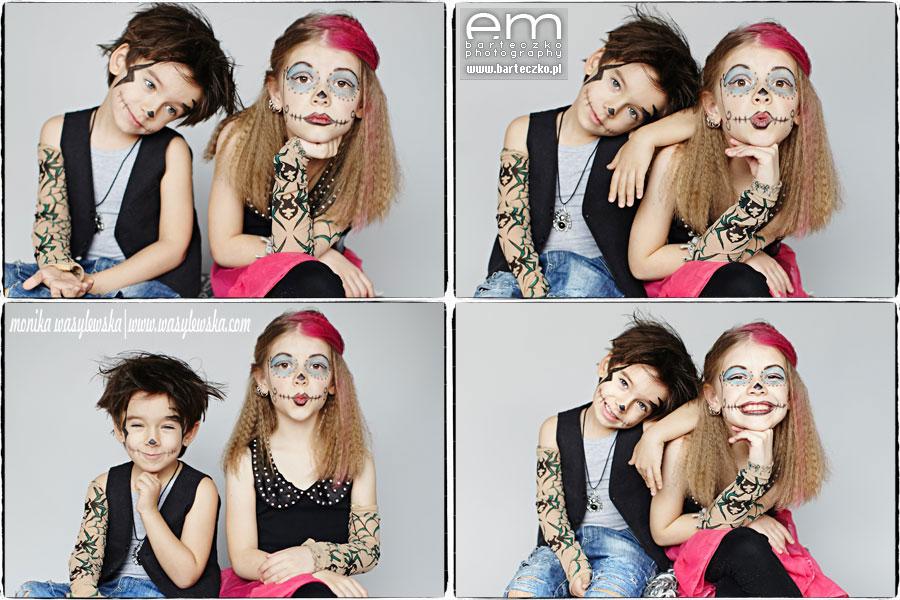 Zdjęcia dzieci, zwariowane Monster Kids 7