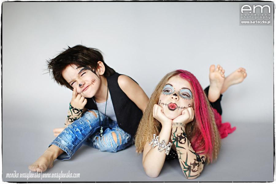 Zdjęcia dzieci, zwariowane Monster Kids 8