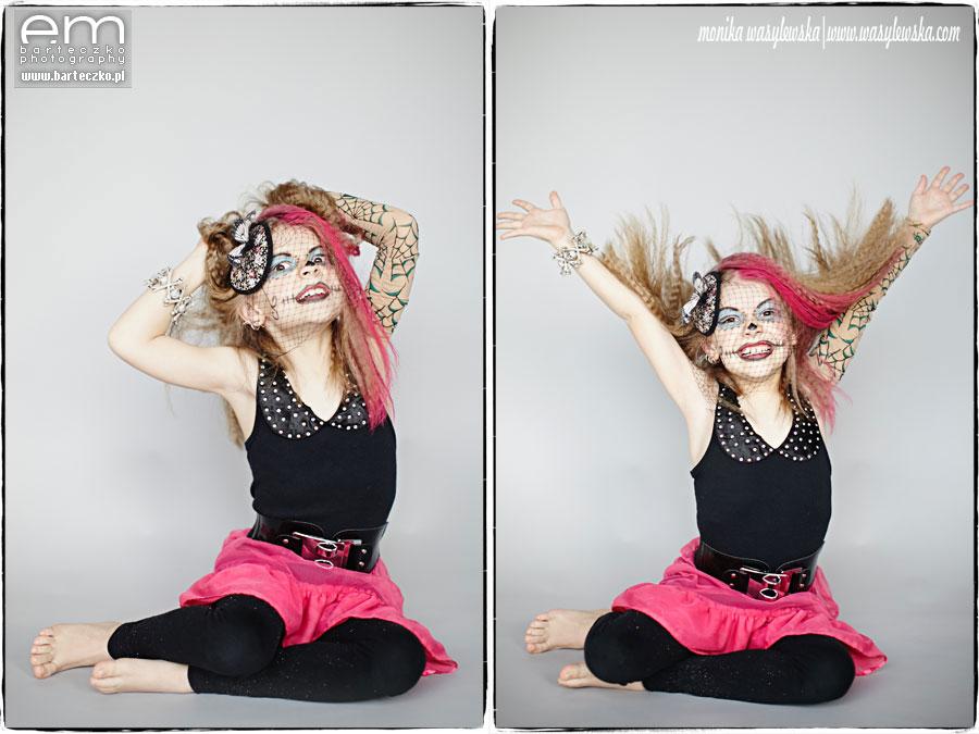 Zdjęcia dzieci, zwariowane Monster Kids 9