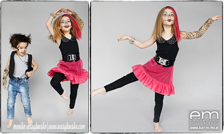 Zdjęcia dzieci, zwariowane Monster Kids 11