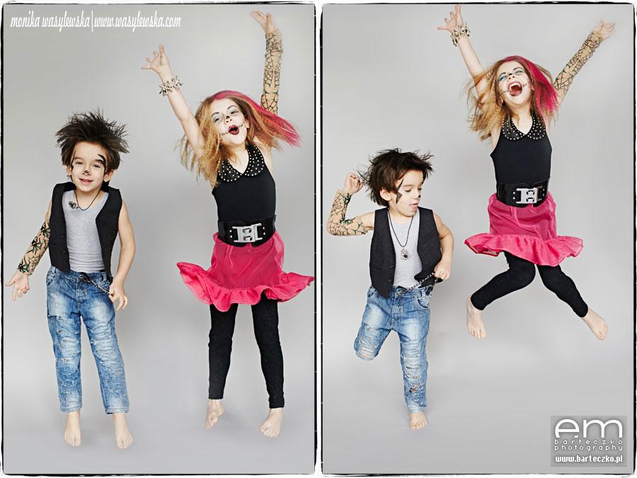 Zdjęcia dzieci, zwariowane Monster Kids 12