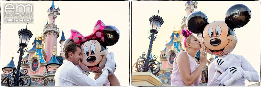 Sesja ślubna Disneyland Paryż 2