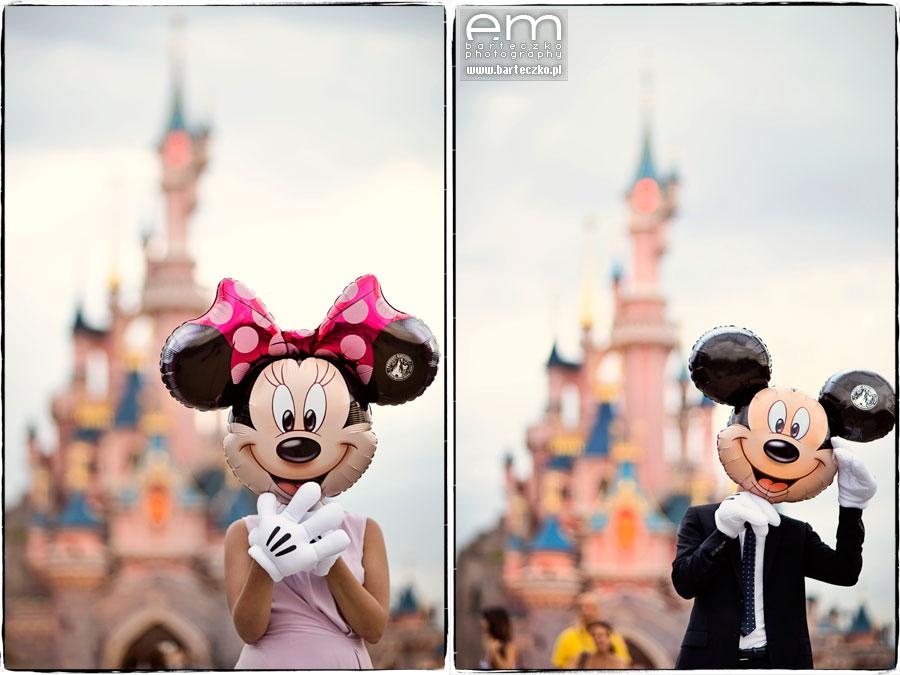 Sesja ślubna Disneyland Paryż 3