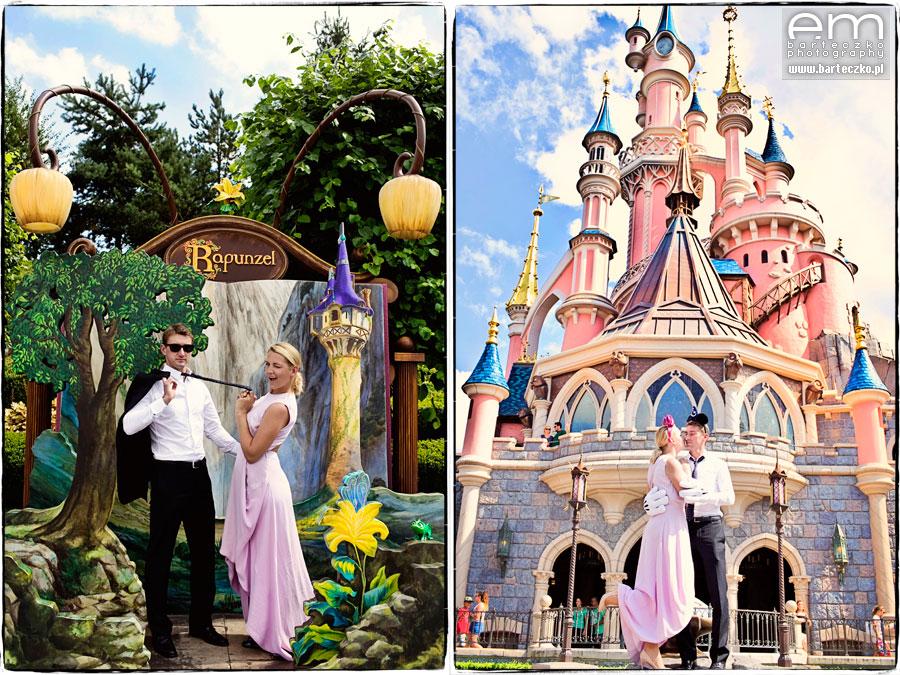 Sesja ślubna Disneyland Paryż 4