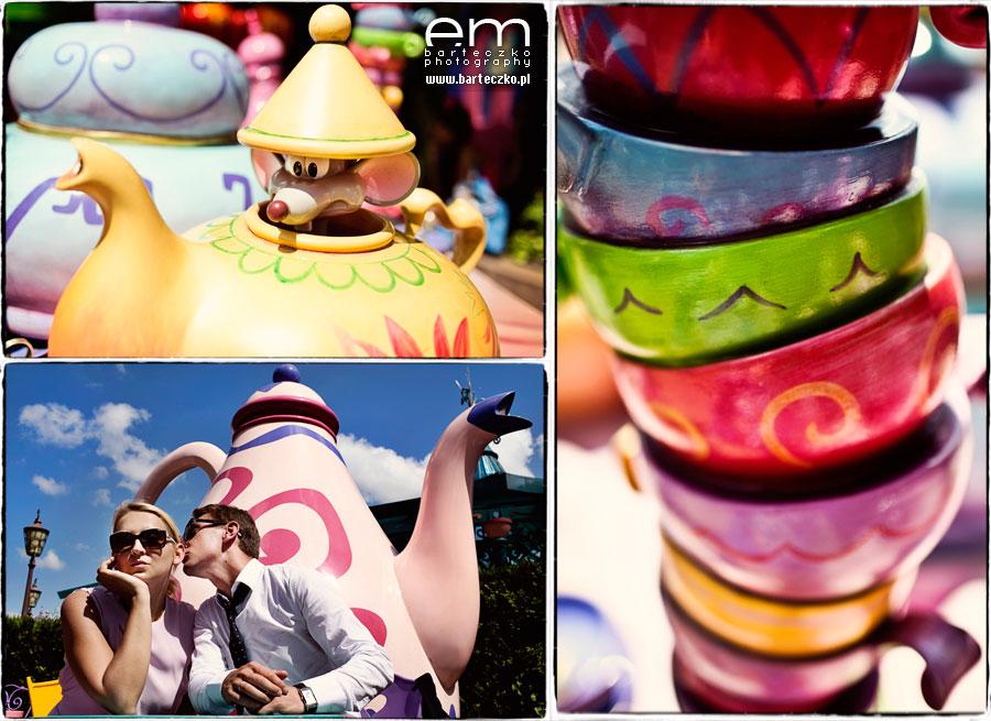 Sesja ślubna Disneyland Paryż 8