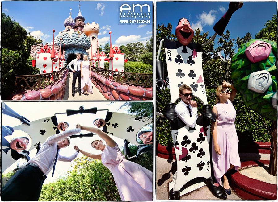 Sesja ślubna Disneyland Paryż 10