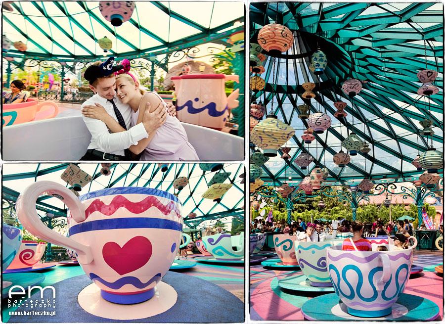 Sesja ślubna Disneyland Paryż 11