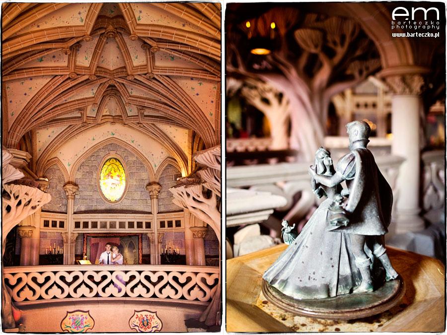Sesja ślubna Disneyland Paryż 16