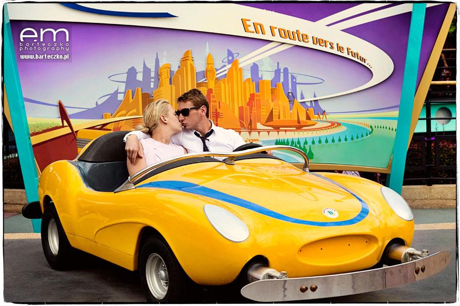 Sesja ślubna Disneyland Paryż 18
