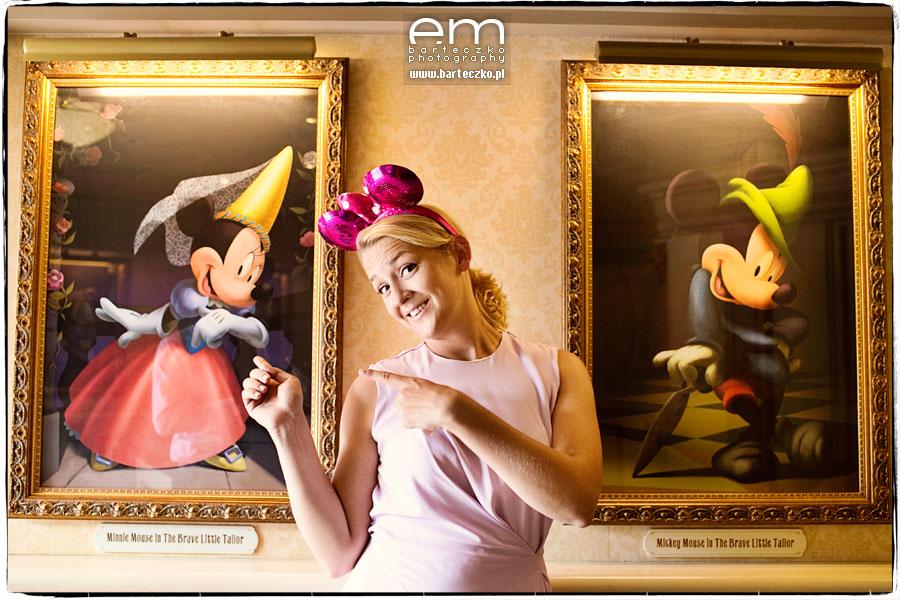 Sesja ślubna Disneyland Paryż 25