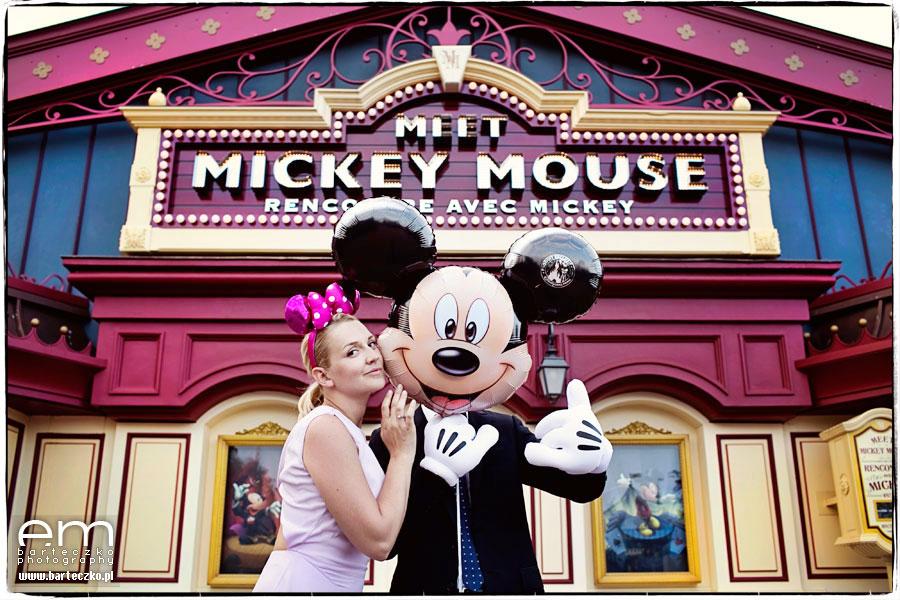 Sesja ślubna Disneyland Paryż 26
