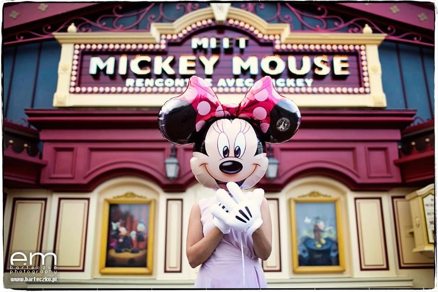 Sesja ślubna Disneyland Paryż 1