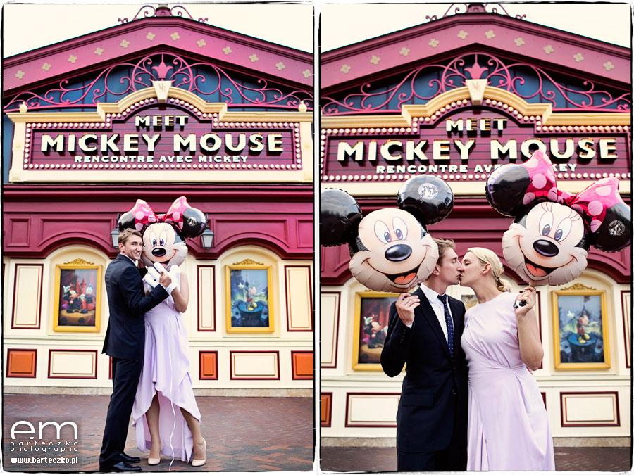 Sesja ślubna Disneyland Paryż 27
