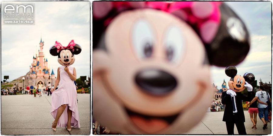 Sesja ślubna Disneyland Paryż 29