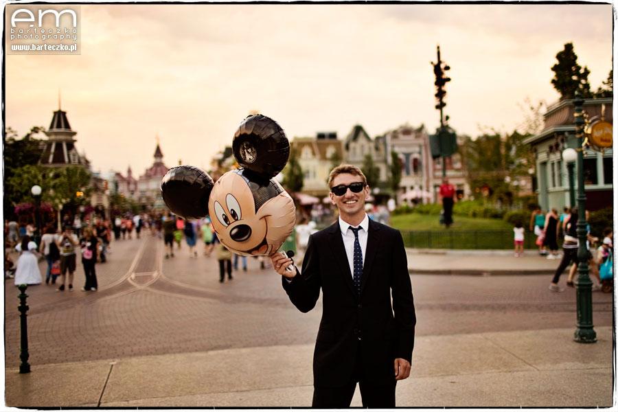 Sesja ślubna Disneyland Paryż 30