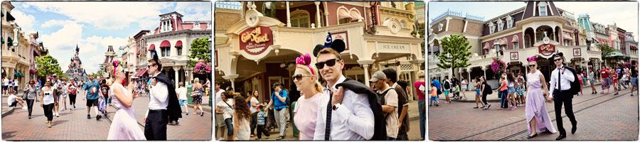 Sesja ślubna Disneyland Paryż 31