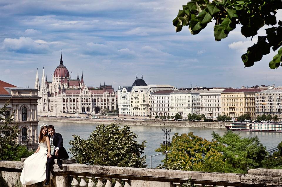 Wedding photos in Budapest