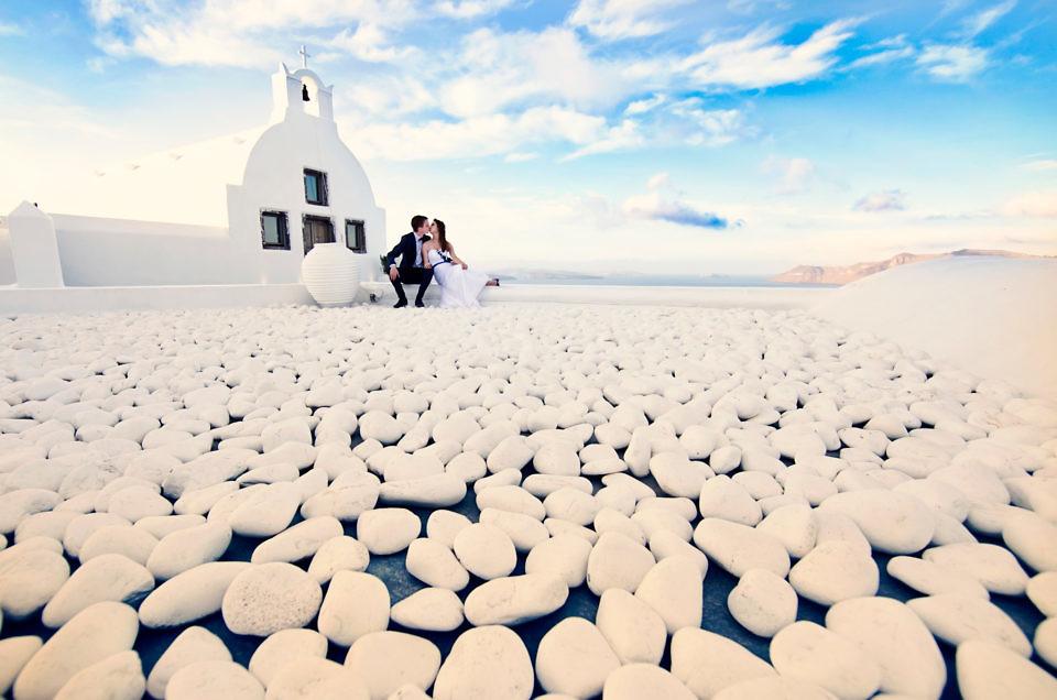 Ślub na Santorini – Ewelina & Mikołaj