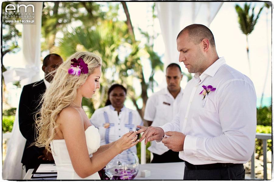 fotograf ślubny na Dominikanie